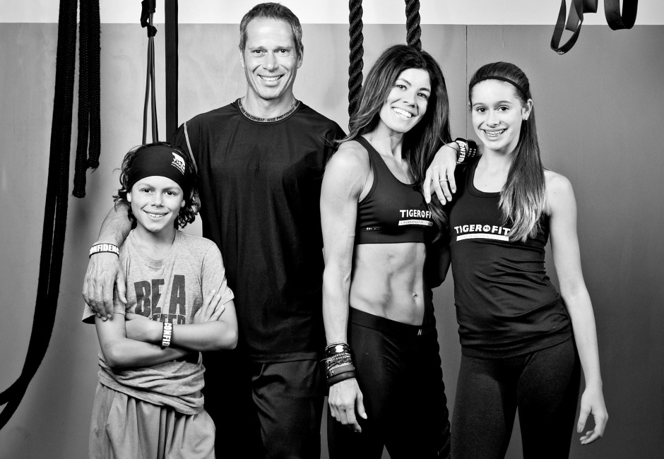 Fitness Expert Stacie Clark with her family