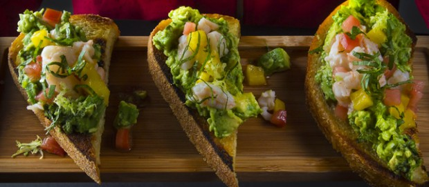 Recipe: Shrimp Avocado Toast